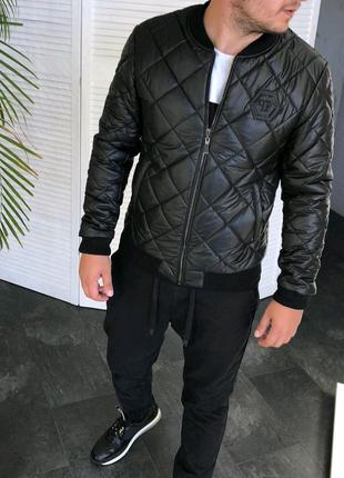 Осенняя куртка бомбер  Philipp Plein :