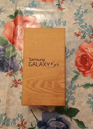 Коробка Samsung Galaxy S4