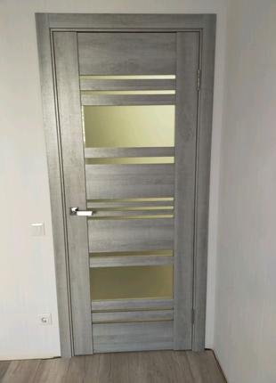 Установка міжкімнатних дверей, монтаж, налагодження.