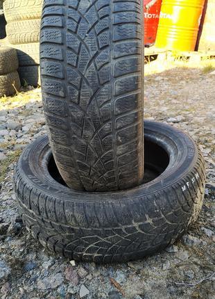 Всесезонная (зимняя) резина Dunlop Winter SP sport 205/55 R16 б/у