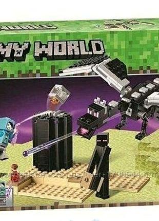 Конструктор Bela Minecraft Последняя битва
