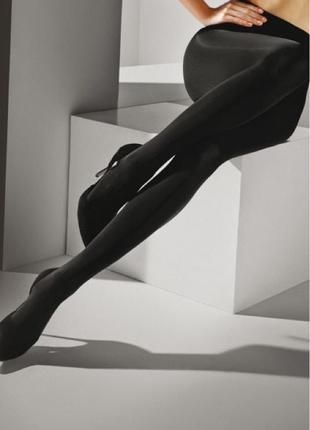 Колготки с сатиновым блеском Marilyn SATINELLE 80 M/L Nero