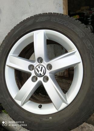Диски литые оригинал Audi Volkswagen Seat SKODA R16(5*112)