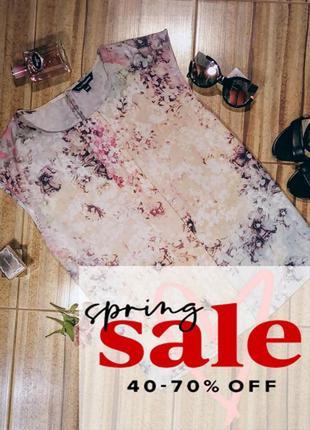 Легкая нежная блуза от kappahl, большой размер