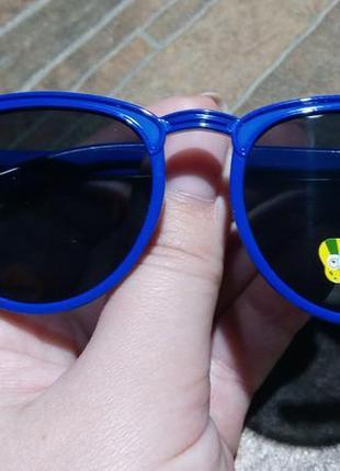 Детские яркие очки для мальчиков и девочек 3-8 лет