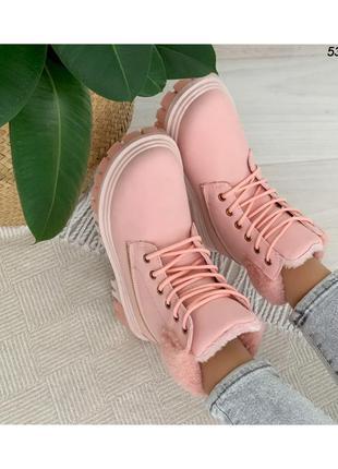 Ботинки женские на шнуровке 53195