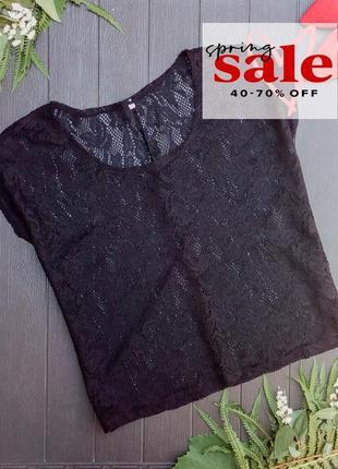 Свободная гипюровая блуза от zeenan textiel supers, р. 44 или ...