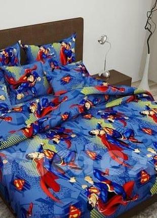 Комплект постельного белья супермен