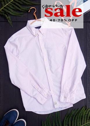 Хлопковая рубашка от logg h&m, s