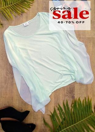 Нарядная блуза с крылышками от jackie vrs woman, xl