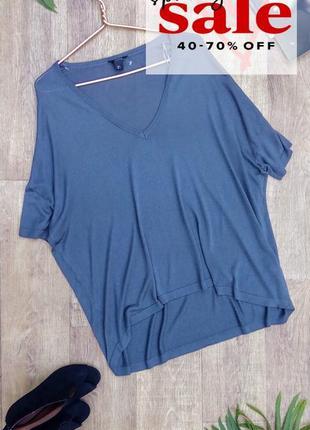 Дымчатый свитер блуза футболка oversize кокон от lindex, l