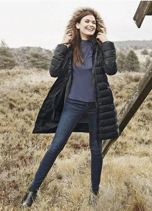 Стеганое термо пальто, пуховик, куртка деми, l 40 euro, esmara...