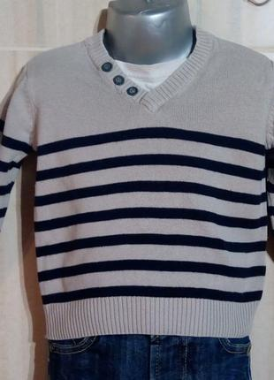 Детский свитер 9-12 мес