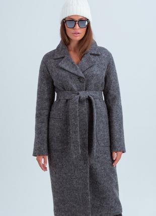 Зимнее утепленное пальто женское 42-48