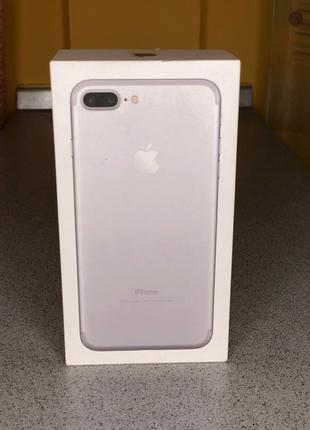коробка iPhone 7+ 32gb silver