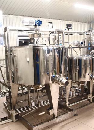 Обладнання для переробки молока