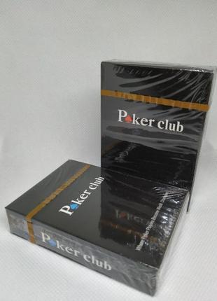 Покерные пластиковые карты Poker Club 54 карты (не bicycle)