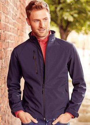 Термо реглан куртка russell 140m soft shell  jacket