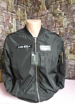 Курточка ветровка бомбер