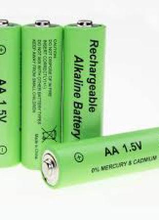 Аккумулятор батарейка Rechargeable Alkaline Battery AA 1.5V 1 шт