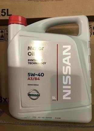 Nissan 5w40 5/1L KE90090042