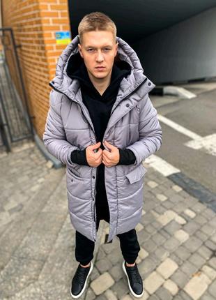Теплая куртка парка
