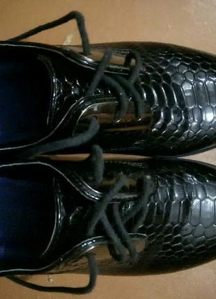 Туфли-оксфорды