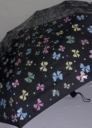 Зонт полный автомат с проявляющимся рисунком magic rain бантики