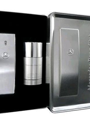 Чоловічий набір Mercedes-Benz Club: Туалетна вода 50 мл + дезодор