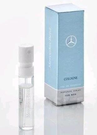 Пробник 1.5ml, мужская туалетная вода Mercedes-Benz Cologne Perfu