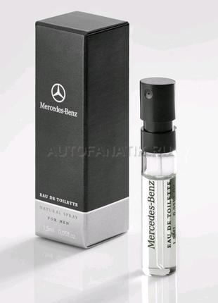 Пробник 1.5ml, мужская туалетная вода Mercedes-Benz Man MBME202