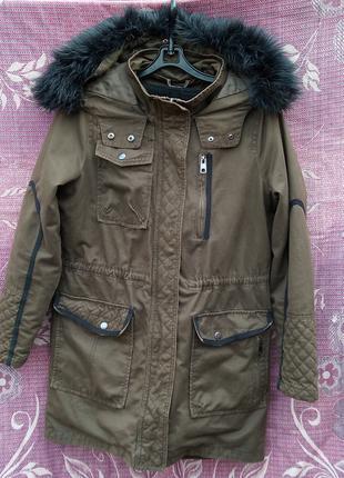 Куртка на подстежке NEXT Осень-Зима-Весна 38 EUR / 10 UK