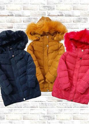 Зимние куртки nature 92-128