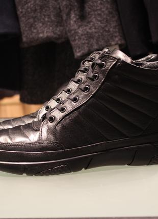 Демисезонные ботинки ecco зимние кожа geox rieker timberland clar