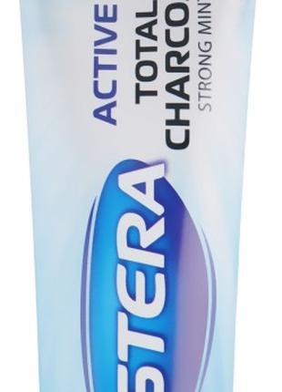 Зубная паста Astera Activ + Total Charcoal 100ml