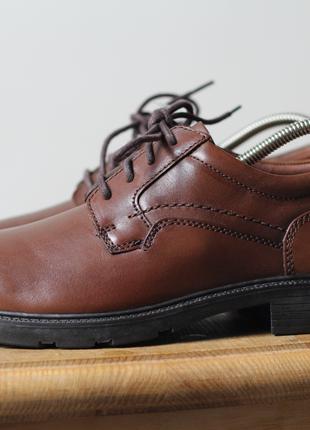 Туфли ботинки мужские Clarks geox кожа ecco новые rieker mexx lac