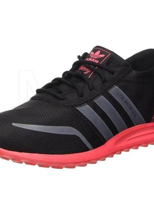 Кроссовки adidas originals los angeles trainers black & red s7...
