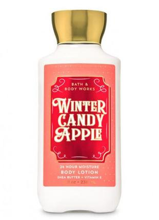 Лосьон для тела bath and body works winter candy apple