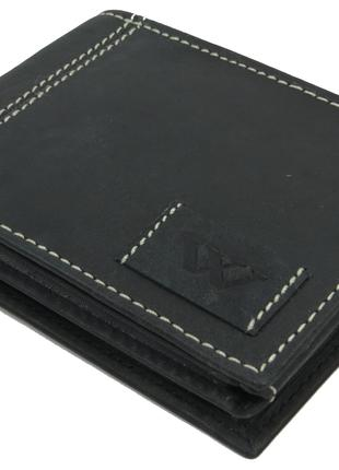 Мужское кожаное портмоне ALWAYS WILD SN992WA1 Black