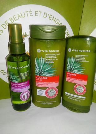 Растительный уход для окрашенных волос: шампунь, бальзам и спр...
