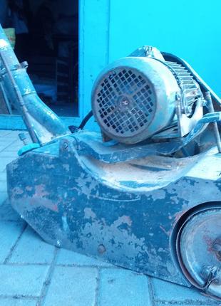 Циклевочная машина СО 206 или еще паркетно-шлифовальная машина
