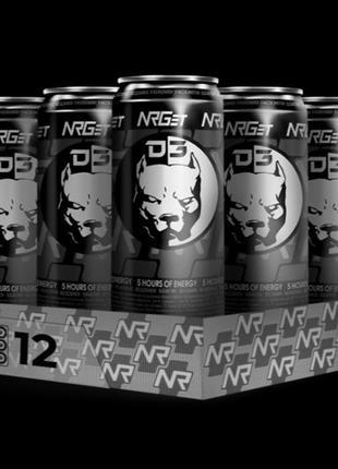 NRGET D3 Black Fresh & White Sweet 12 pack энергетик от Давидыча
