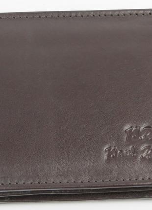 Мужское кожаное портмоне ALWAYS WILD S0035MTN BROWN