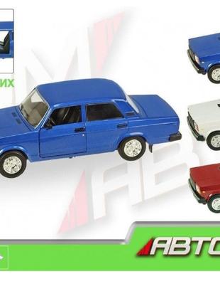 Машина металлическая Автопром ВАЗ-2107