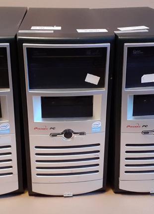 Корпуса ПК ATX+привод DVD SATA+FAN 80 мм