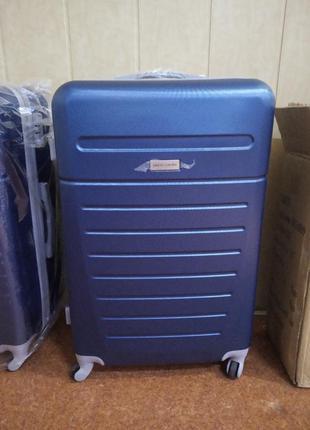 Дорожный чемодан на колесах pierre cardin