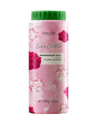 Тальк для тела с цветочным ароматом Love Nature Oriflame