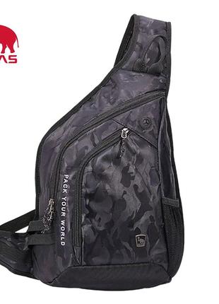 Сумка/рюкзак через плечо Oiwas ракушка, Однолямочный