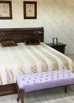 Спальный гарнитур Шопен из натурального дерева
