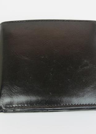 Мужское кожаное портмоне ALWAYS WILD SBLM01CFL черный